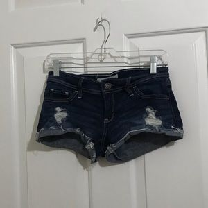 5/$45 Hollister 1 Ripped Distressed Short Shorts